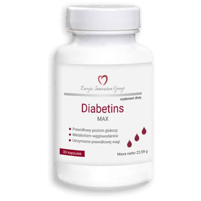Diabetins Max kapsułki - opinie - skład - cena - gdzie kupić?