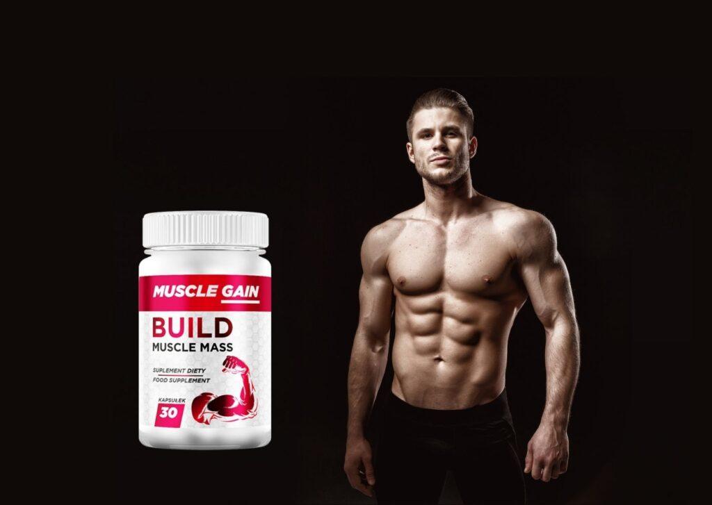 Muscle Gain - jak stosować? Dawkowanie, przeciwwskazanai i instrukcja