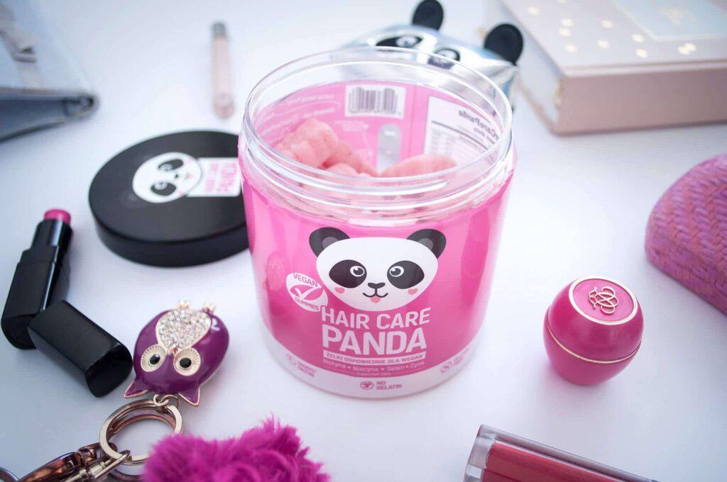 Hair Care Panda - jakie składniki zawierają żelki?