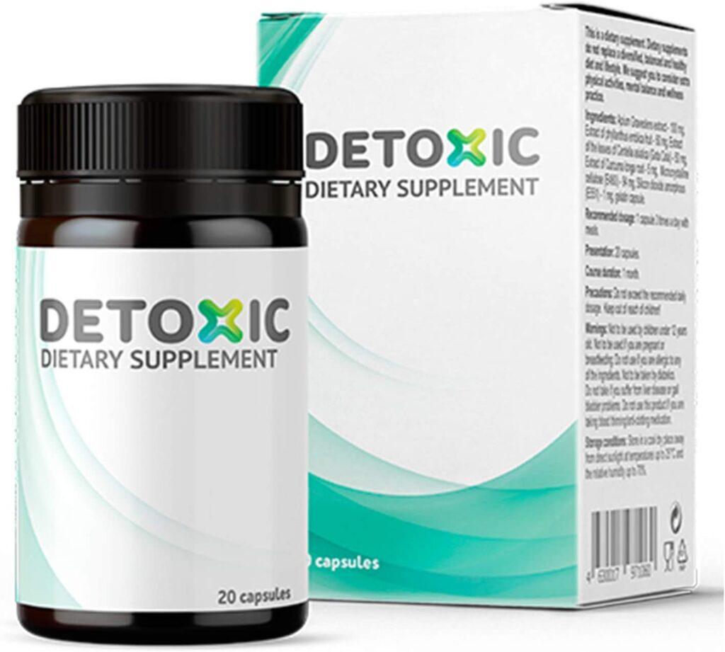 Detoxic kapsułki - opinie, składniki, cena, gdzie kupić?