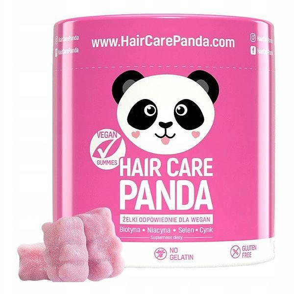 Hair Care Panda - suplement diety na włosy w postaci żelek