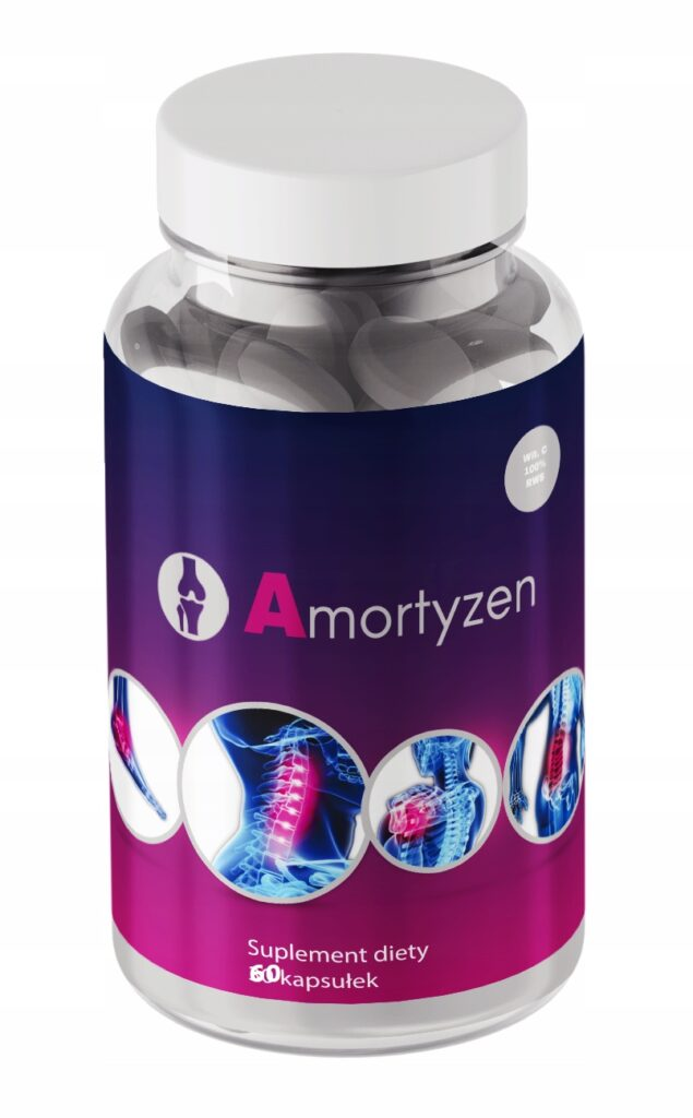 Amortyzen - kapsułki zapobiegające chorobom stawów