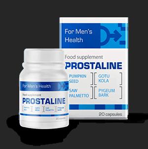 Prostaline - kapsułki leczące przerost prostaty
