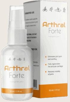 3. Arthral Forte - spray, który wyleczy bóle stawów