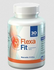 5. FlexaFit - kapsułki łagodzące stany zapalne i bóle stawów