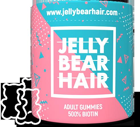 Jelly Bear Hair - żelki dla silniejszych i bardziej gęstych włosów